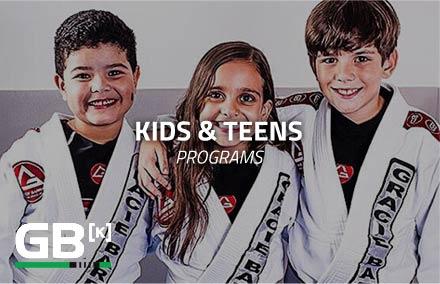 Gracie Barra Kids Programs